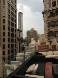 Union Square View from Toshi Rooftop