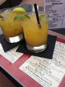 Flaming Mandarin Margarita