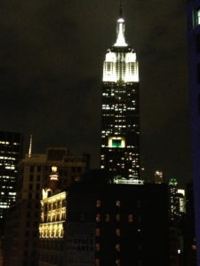 Nighttime View from Toshi roof top