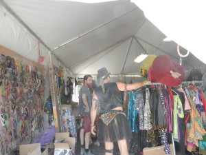 inside the Kostume Kult costume tent 2015