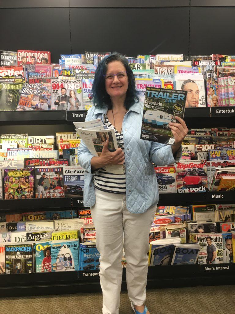 Magazines at B&N
