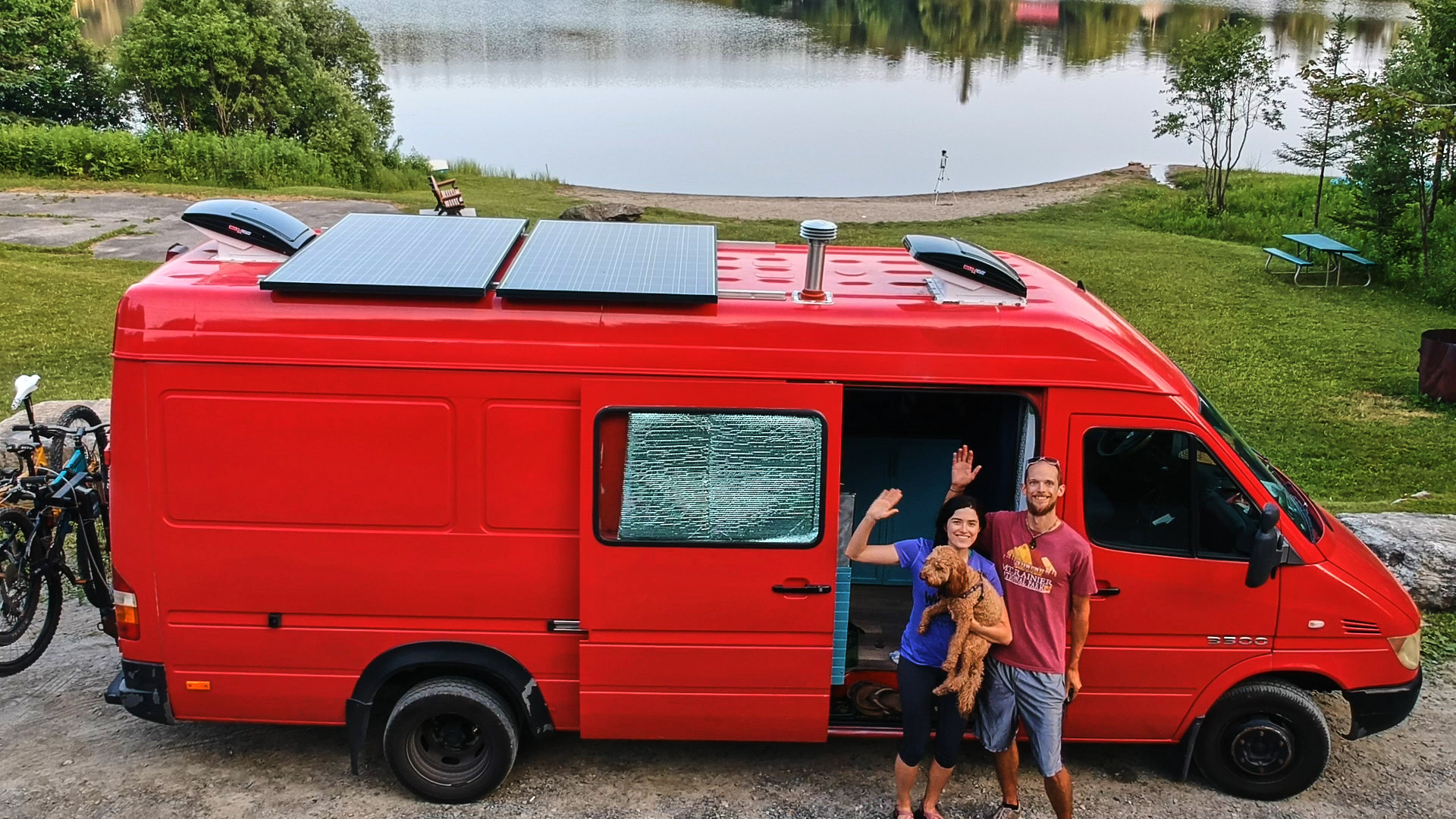Converting To Van Life Living My Husband And I Had A Plan In May Of 2018 We Would Quit Our Jobs Go Full Time Own Businesses Travel