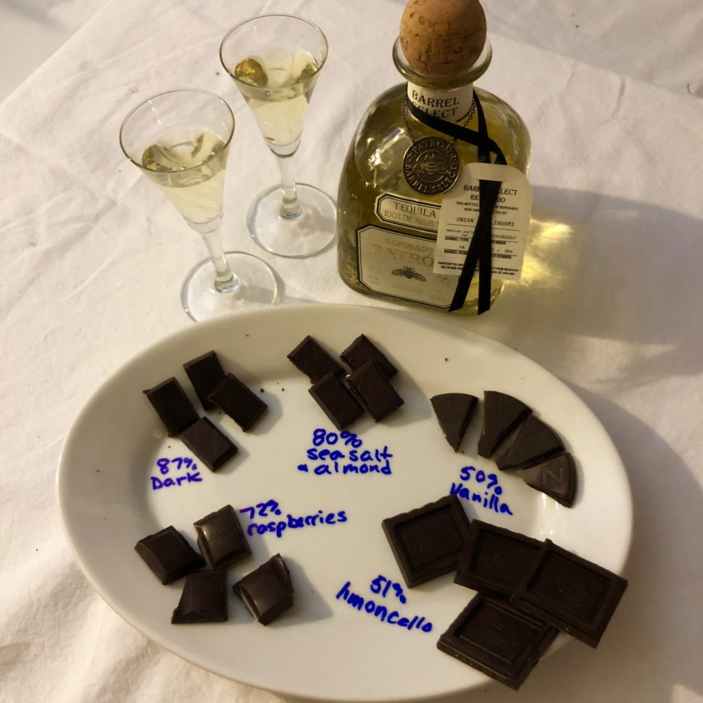 tequila and chocolate pairing