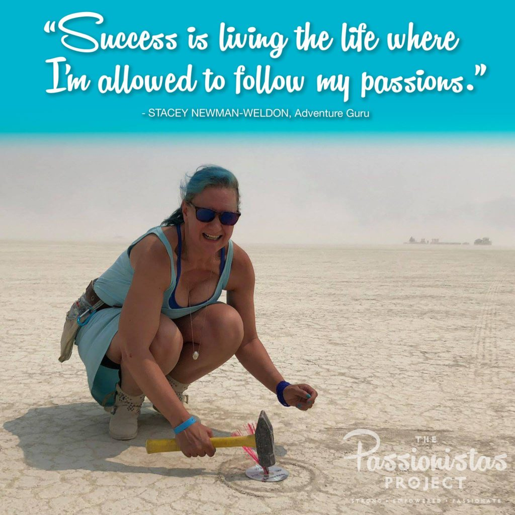 Adventure Mindset quote on success