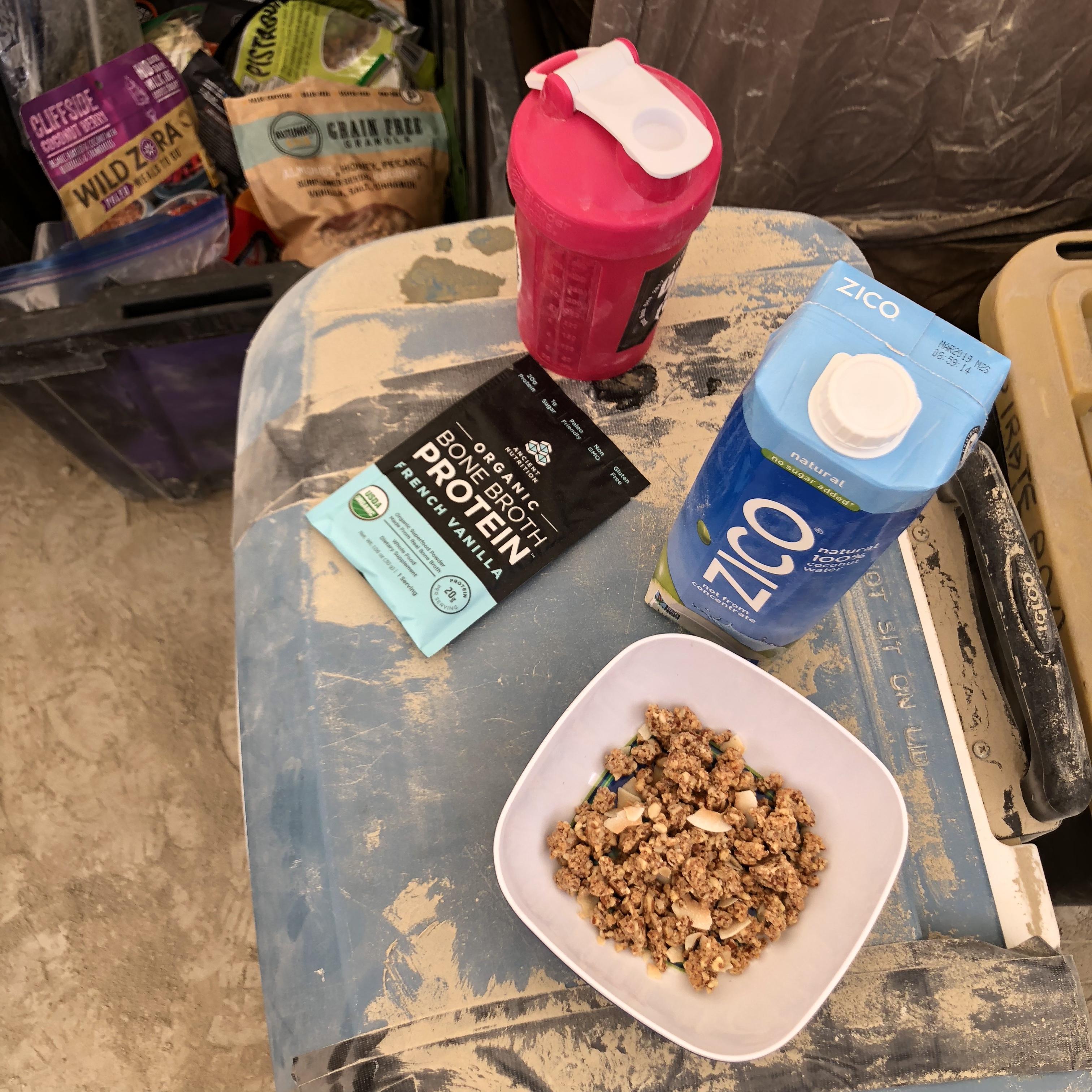 Challenge met: eating Paleo (ish) at Burning Man