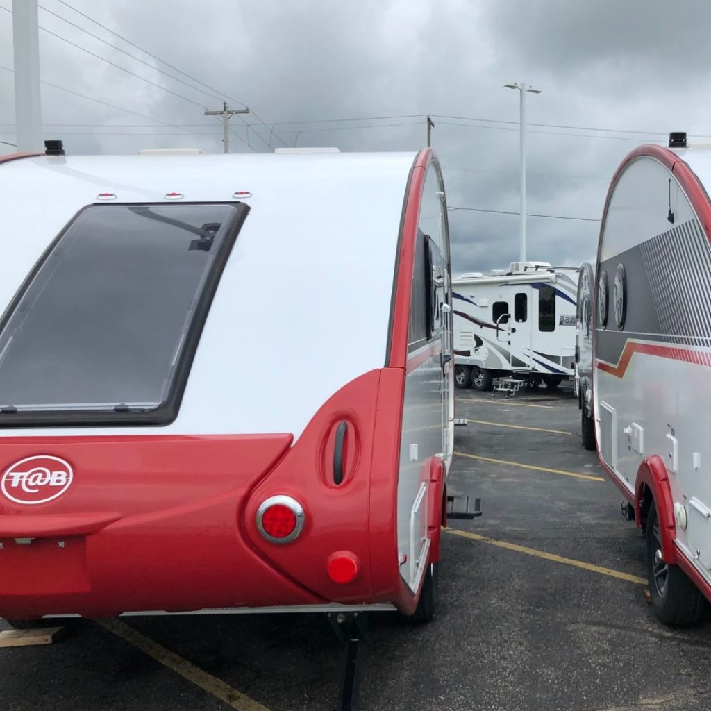 tear drop travel trailers