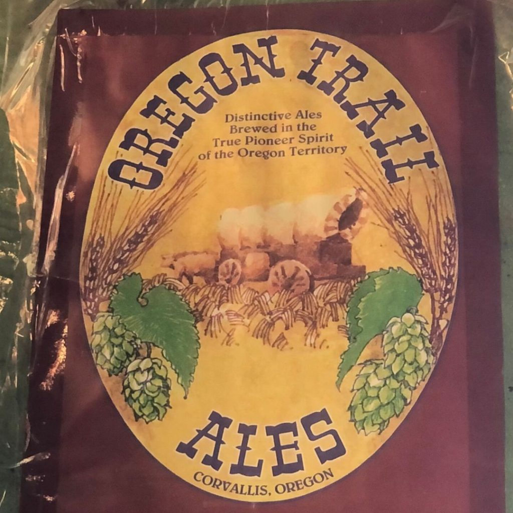 Oregon Trail Ales sign