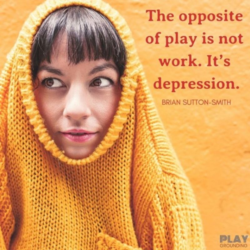 play is antidote to anxiety and depression