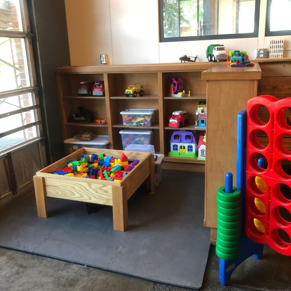 interior play area for little kids