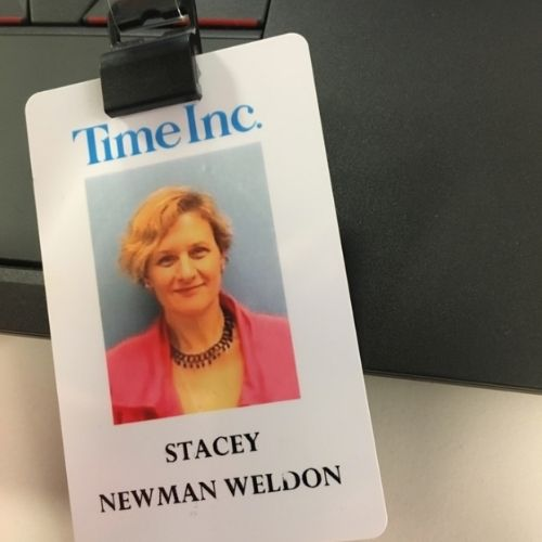 Time Inc security card before my job loss