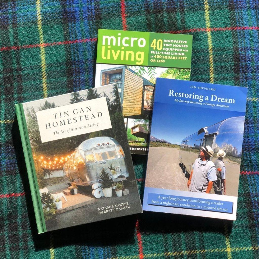 three books on airstream life