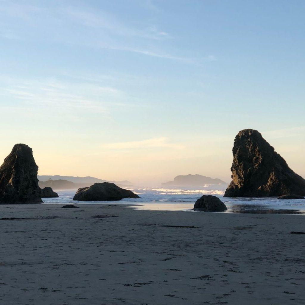 Bandon Beach at sunrise