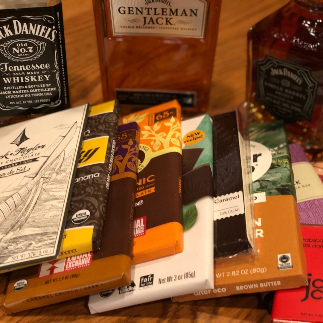 How to pair Whiskey, Bourbon or Scotch with Chocolates