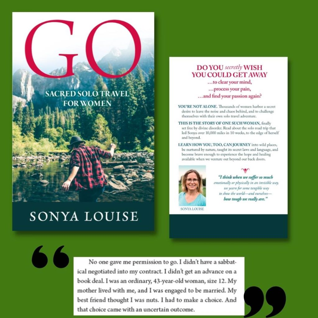 cover and quotes for GO: Sacred Solo Travel for Women