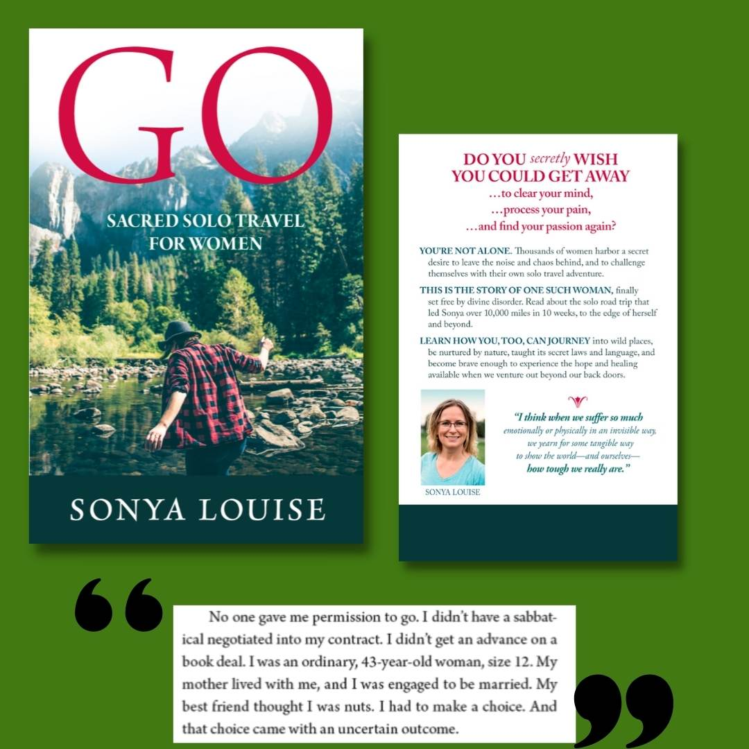 Courage for solo camping, by Sonya Louise