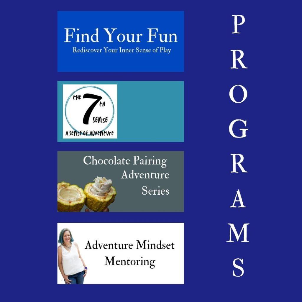 Program listing for Adventure Wednesdays