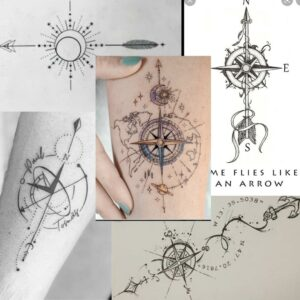 compass tattoo examples